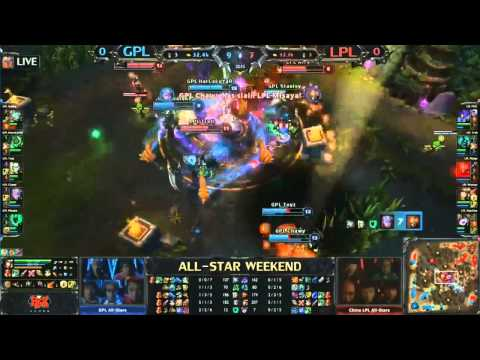 All-Star Shanghái 2013 - GPL SEA vs LPL China - Partida 1 - LoL en Español
