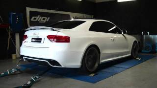 Reprogrammation moteur Audi rs5 V8 dyno digiservices