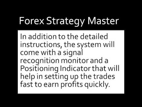 Forex strategy master login
