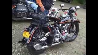 Ross Kiwi Tomas Memorial Kickstart Classic Motorcycle Ride - Day 1 2014