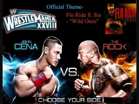 Wrestlemania 28 Theme-wild Ones By Flo Rida Ft. Sia(lyrics In Desc.) video
