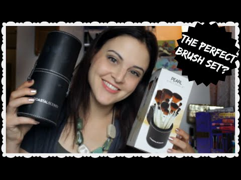 Best All-In-One Brush Set?? Review of Coastal Scents' NEW Pearl Brushes ♥ Jen Luv's Reviews ♥