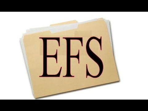 ¡Importante! Como hacer el respaldo de la carpeta EFS.