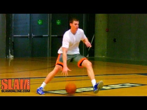 Erik Murphy Chicago Bulls 2013 NBA Draft Workout - Impact Basketball Las Vegas - SLAM Magazine