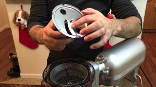 KitchenAid Slow Juicer Attachment Setup/Review/Unboxing