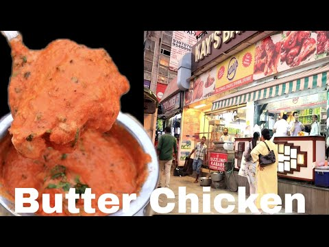 Kay's ka legendary Butter Chicken | Kays Bar-Be-Que In New Delhi | Hmm