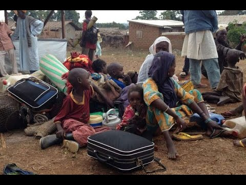 Thousands flee violence in Central African Republic