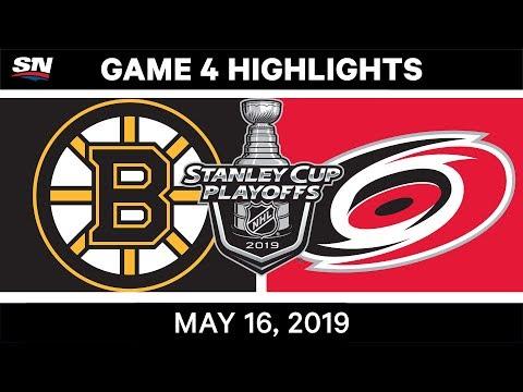 NHL Highlights | Bruins Vs. Hurricanes, Game 4 – May 16, 2019