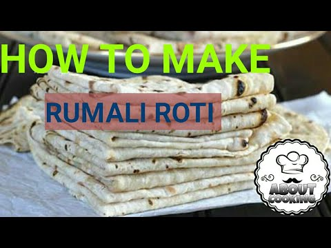 How to make Rumali roti at home | Rumali roti recipe | home made Rumali roti