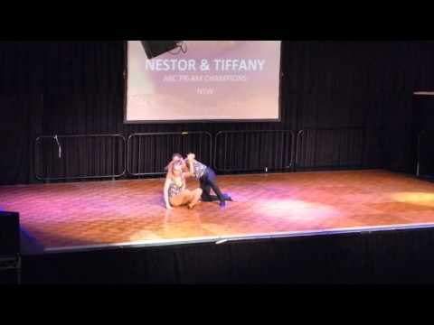 2016 Sydney International Bachata Festival - Nestor and Tiffany