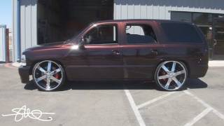 EXHAUSTING LOUD Car Stereo BASS - Chevy Tahoe 4 18's 30,000 Watts