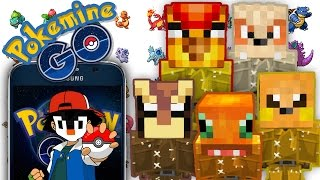 POKEMON GO IN MINECRAFT! (PokeMine GO) | 1.10 Command Block Creation: Minecraft