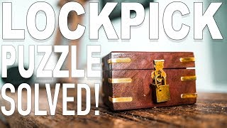 Solving the Expert LOCKPICK Puzzle!!