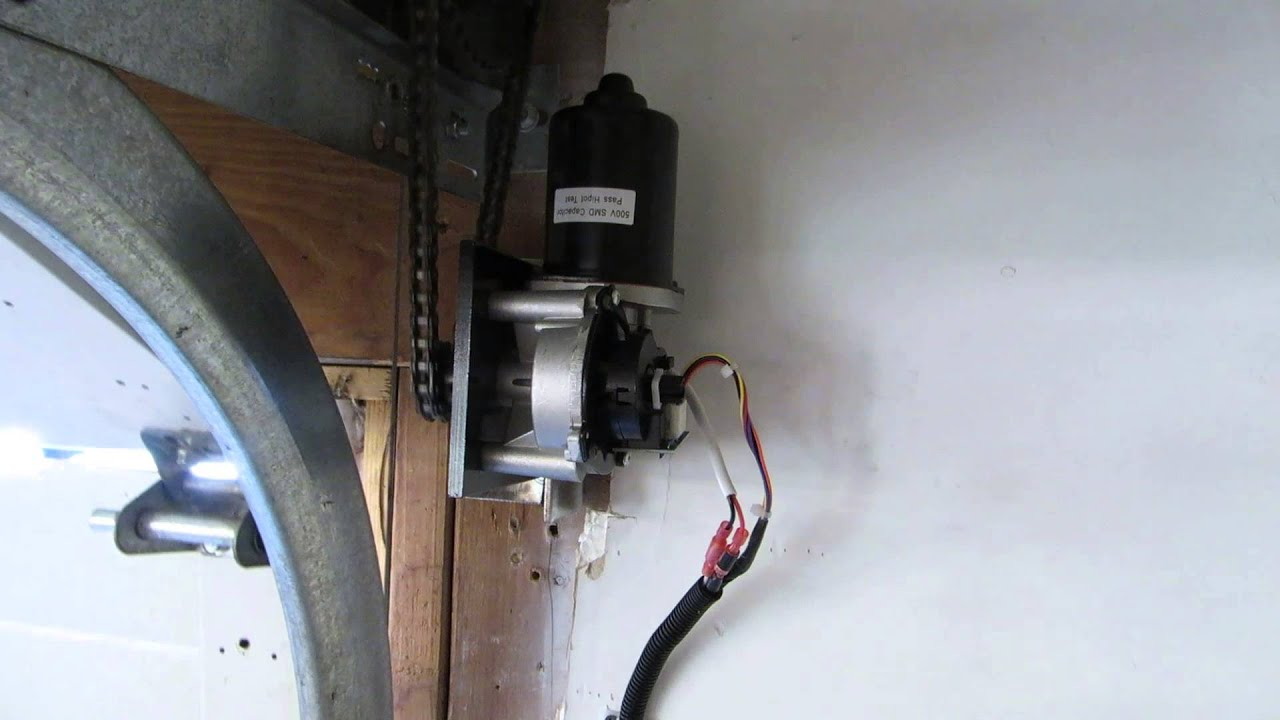 Craftsman Battery Backup Side Mount Garage Door Opener