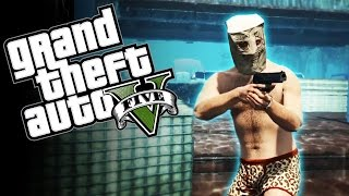 UNDERWATER FIGHT CLUB - GTA 5 Online Funny Moments