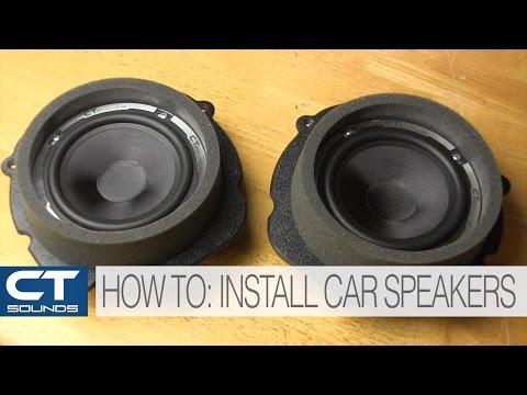 CT Sounds How To   Install Car Door Speakers