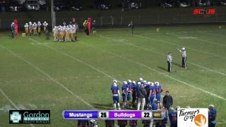 Gordon-Rushville Football vs Bridgeport 2018