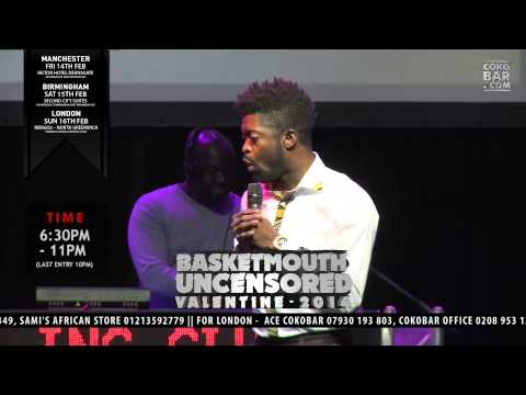 Basket Mouth man Vs Woman - Basketmouth Uncensored (valentine Special) video