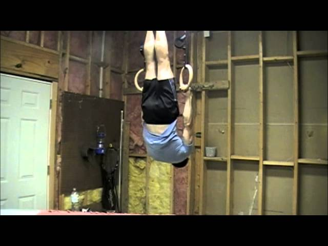 Gymnastics Ring Strength - Front Lever Training