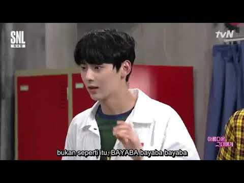 (Indo sub) SNL Daniel dan Minhyun Wanna One (4/4)