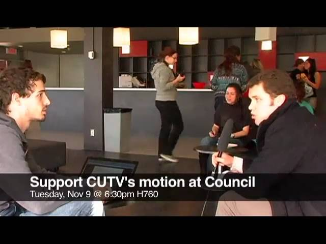 CSU to table motion to allow CUTV to film Monthly Council Me