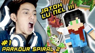 PARKOUR SPIRAL 2 ft. RANEL | Parkour Map | Minecraft Indonesia
