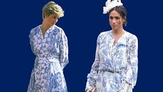 Meghan Markle dressed just like Princess Diana