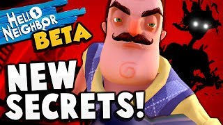 Hello Neighbor - THE SECRETS KEEP COMING! Golden Apple Nightmare! - Hello Neighbor Beta Update