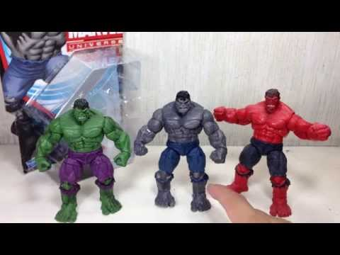 Marvel Universe 2013 Gray Hulk Toy Review