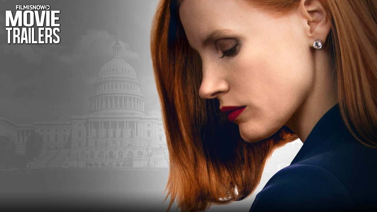 MISS SLOANE | Jessica Chastain is a Ruthless Gun Control Lobbyist