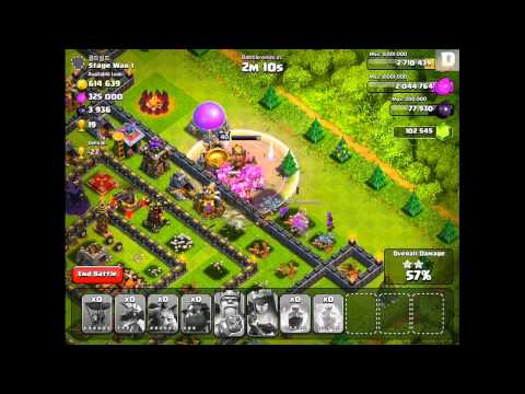 Clash of Clans - Lava Hound Revealed! (New Troop Gameplay)