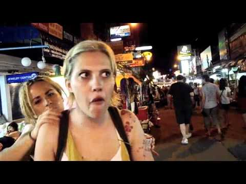 Backpacker Video Diaries: Bug Eating in Bangkok!