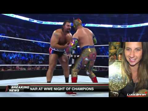WWE Smackdown 8/22/14 Rusev vs Sin Cara Live Commentary
