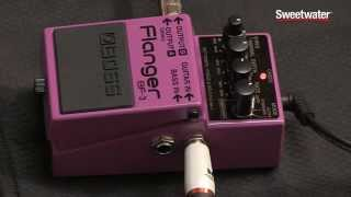 BOSS BF-3 Flanger Pedal Review by Sweetwater