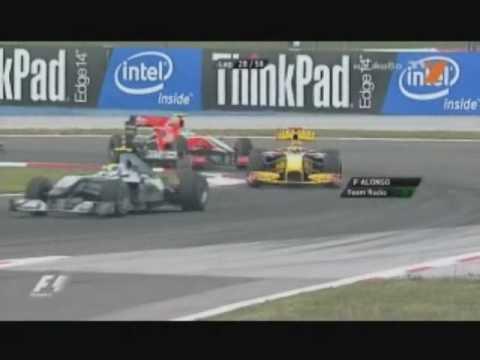 Fernando Alonso team radio GP Turkey