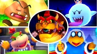 Mario Party Star Rush - All Boss Battle Minigames
