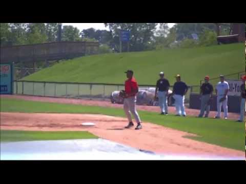 Milwaukee Brewers MLB Tryout 7/30/12 Rookie First Baseman **never played**
