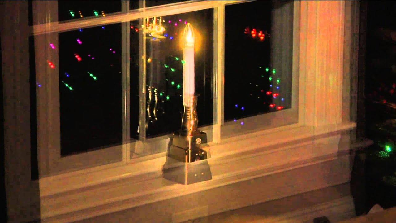bethlehem lights set of 4 battery op window candles with nancy. Black Bedroom Furniture Sets. Home Design Ideas