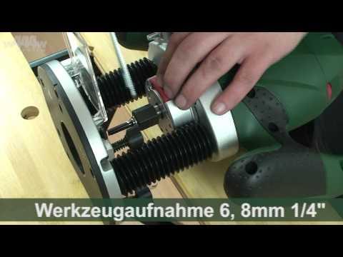 Fräszirkel für Bosch POF 1100-1400 Fräschablone Kreisschneider Fräshilfe FZ510#4