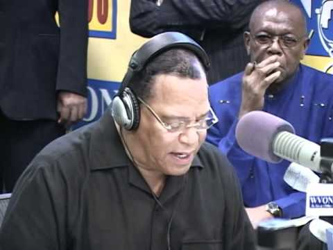 Min. Louis Farrakhan speaks on Col. Gadhafi  with WVON's Cliff Kelley.flv