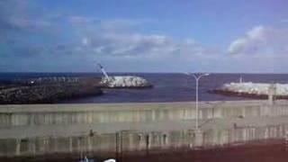 Works in the port of Puerto de Vega 4