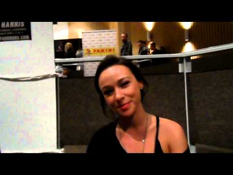 Interview Danielle Harris at Weekend of Horrors 2012 in Bottrop