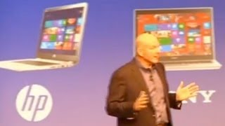 Microsoft's Steve Ballmer on Windows 8