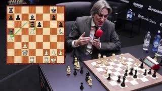 World Chess Championship 2018 Carlsen vs Caruana Game 2 Report