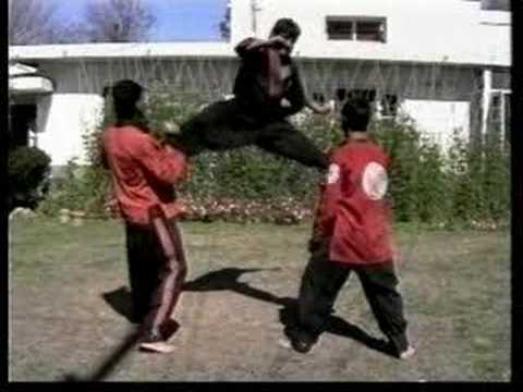 Flying Kicks (Ehsan Shafiq an Afghan kung fu champion)