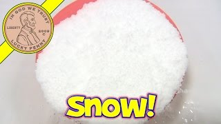 Learn About Insta-Snow Powder - Just Add Water!