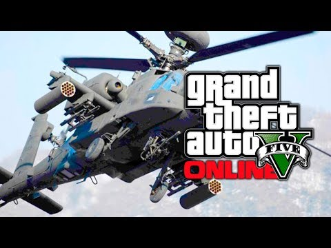 GTA 5 Online: New Vehicles Coming Soon?! Hunter Apache, Hydra Fighter Jet & Skimmer Planes (GTA V)