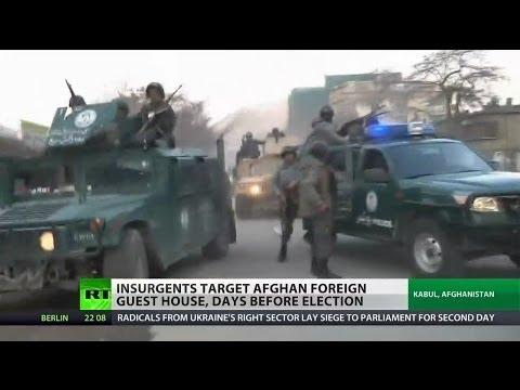 Taliban attacks central Kabul