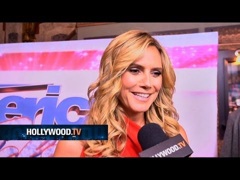 Heidi Klum and Mel B join America's Got Talent - Hollywood.TV