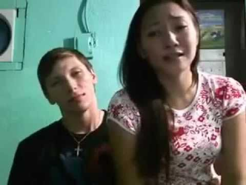"American guy duets with his Filipina girlfriend - ""Hanggang Ngayon"""